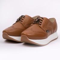 Bluchers platform brown