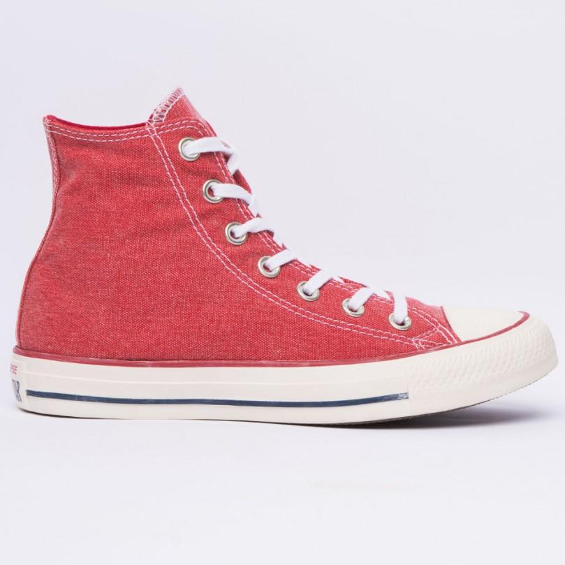 Converse Chuck Taylor Hi (red/white)